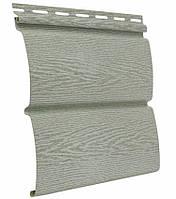 Сайдинг блокхаус Ю-ПЛАСТ Тимберблок Ясень Прованс зелёный (0,782 м2), фото 1