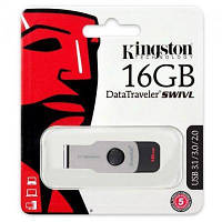 Модуль FD 16GB Kingston DT SWIVL Metal USB 3.0 (DTSWIVL/16GB)