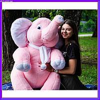Слоник Джамбо 120 см розовый