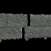 Фасадная панель Ю-ПЛАСТ Stone-House Камень Изумрудный (0,68 м2)