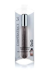 Женский мини парфюм DG L`Imperatrice 3, 20 мл