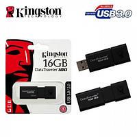 Модуль FD 16GB Kingston DataTraveler SE9 Silver (DTSE9H/16GB), USB 2.0, металева, 39x12.35x4.55