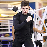 Тренировочный мужской комплект компрессионной  одежды