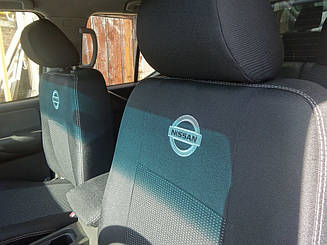 Чехлы на сидения Nissan Micra (K12) (купе) (2003-2010) в салон (Favorit)