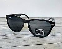 Солнцезащитные очки Вайфареры Ray Ban (копия) черные