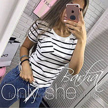 Модна жіноча футболка з кишенею,тканина віскоза,розміри:42-44,46-48,50-52.