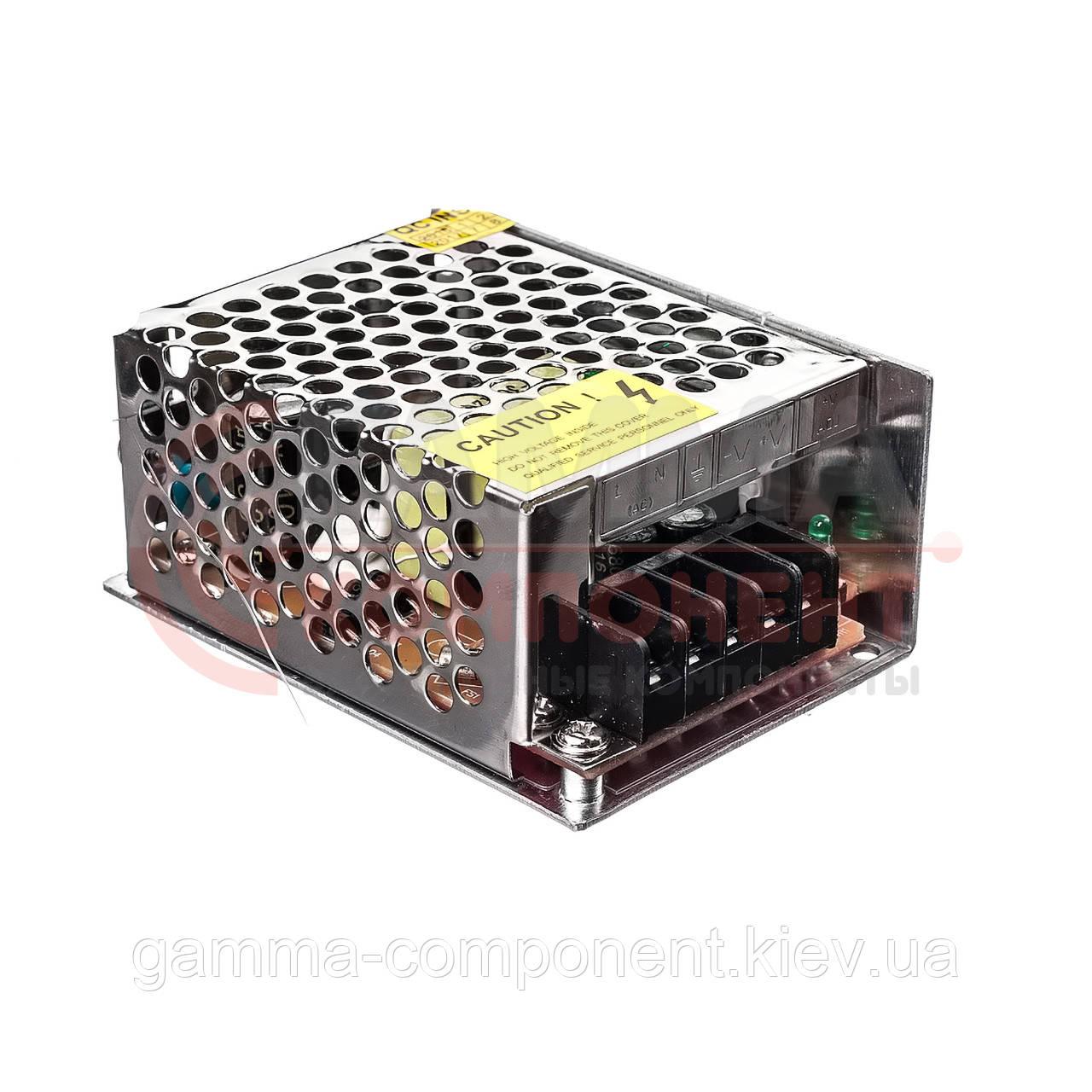 Блок питания 12В перфорированный Compact, 3A 36Вт, IP20