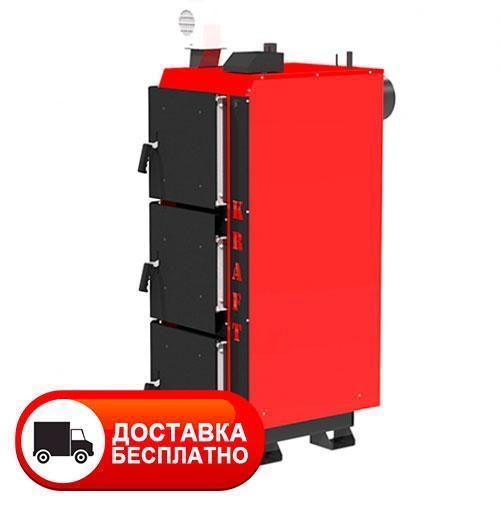 Котел длительного горения Kraft серия L 30 кВт с ручным управлением