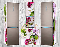 Дизайнерские наклейки на холодильник Яблоня