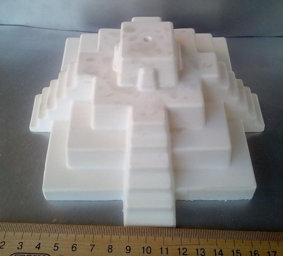 Гипсовая фигурка для раскрашивания статуэтка. Гіпсова фігурка для розмальовування. Пирамида