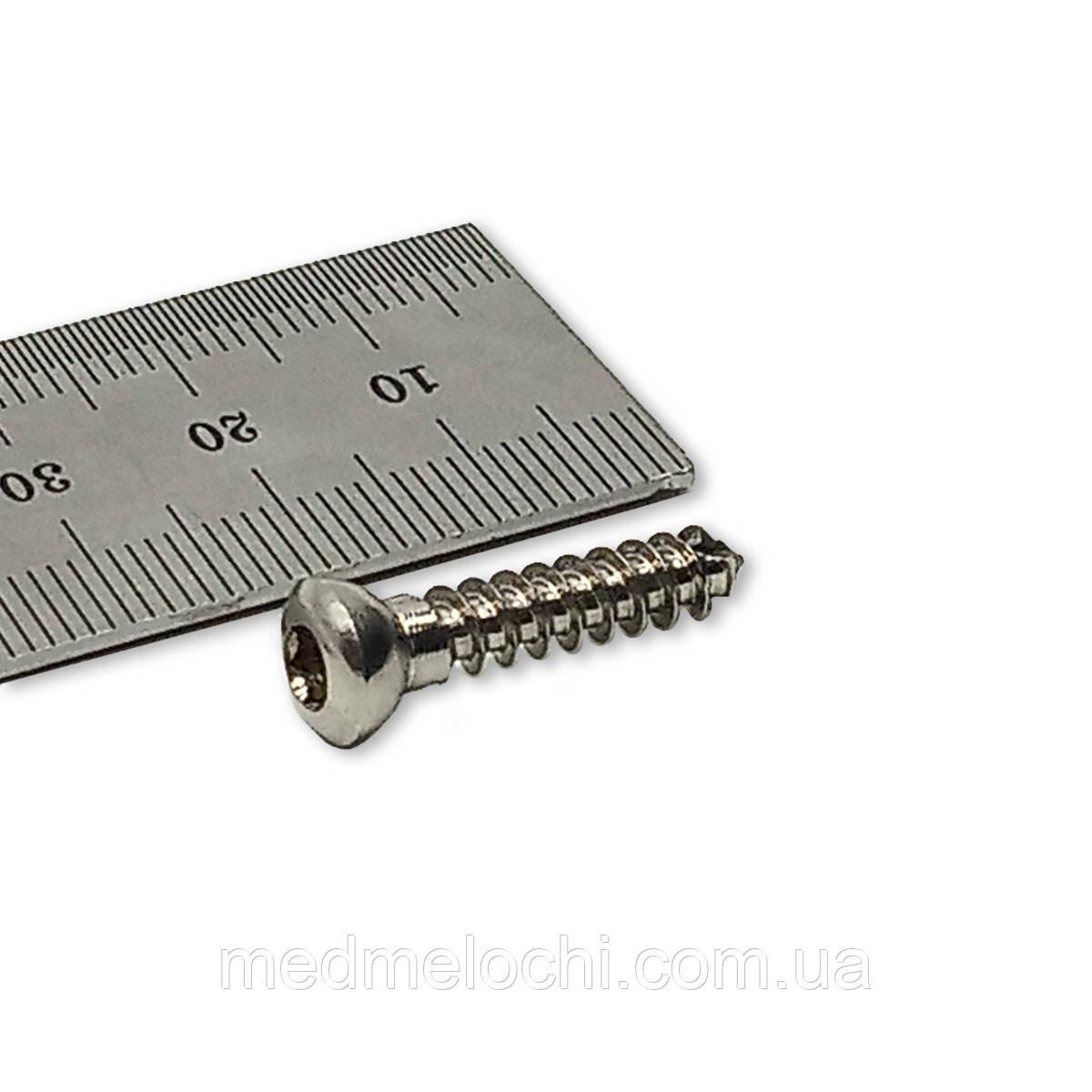 Гвинт кортикальний D=4,5мм, 24мм