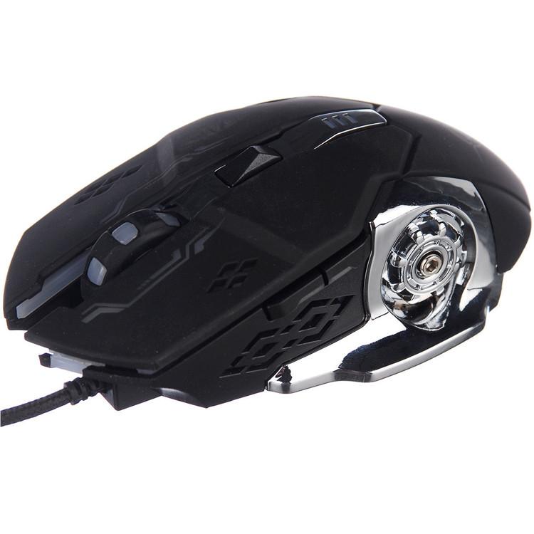 Компьютерная игровая мышь, мышка Zornwee GX20 с подсветкой Черный USB мышка оптическая