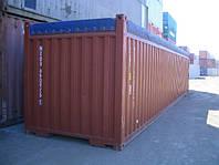 Тент на контейнер 20,40 футов с открытым верхом из ткани ПВХ