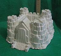 Гипсовая фигурка для раскрашивания статуэтка. Гіпсова фігурка для розмальовування. Замок большой
