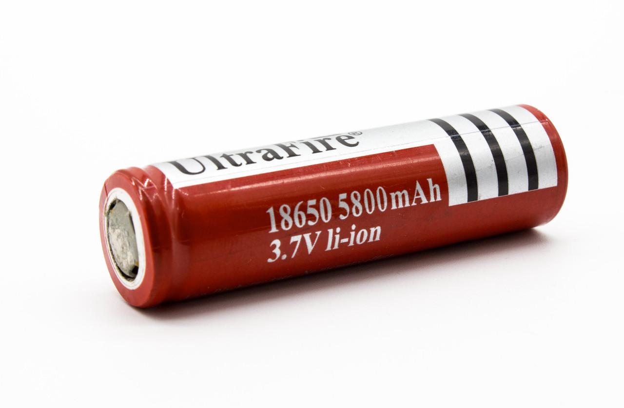 Аккумулятор батарейка 18650 UltraFire 5800mAh