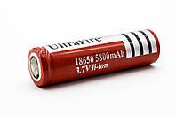 Аккумулятор батарейка 18650 UltraFire 5800mAh, фото 1