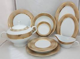 Сервиз столовый Bougucice Opal Gold 12/43 124301