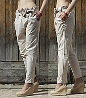 Летние легкие брюки из льна, фото 1