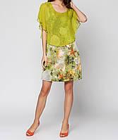 Платье женское  демисезонное короткое с цветочным принтом  Catherine Malandrino
