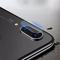 Защитное стекло на камеру для Huawei P20 Lite