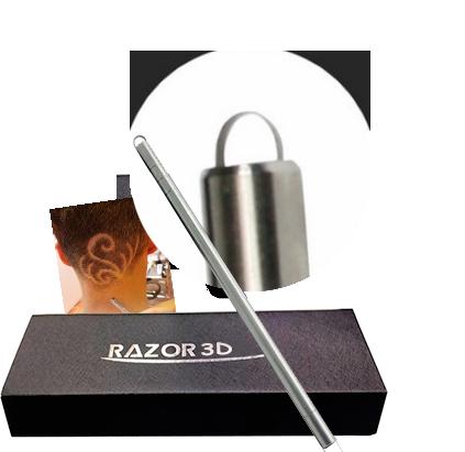 Бритва-ручка Razor 3D (Разор 3Д) для создания причесок и стрижек