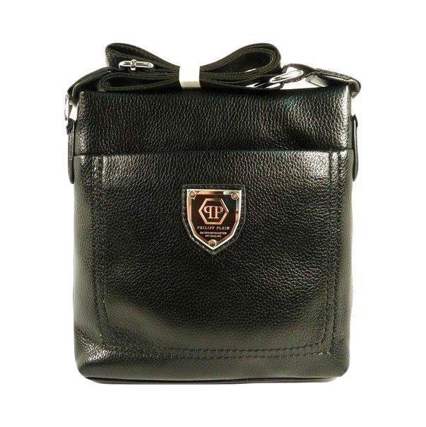 Кожаная сумка планшет Philipp Plein