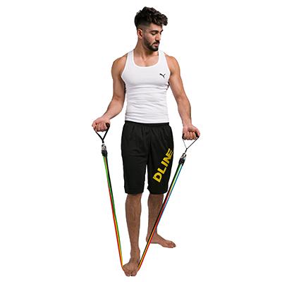 Спортивный инвентарь для укрепления мышц - Трубчатый эспандер