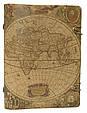 """Щоденник (портфоліо) А5 формату в шкіряній обкладинці зі змінним блоком """"Тревел"""", фото 2"""