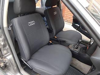 Чехлы на сидения Audi A4 (B-6) (седан) (Recaro) (2000-2004) в салон (Favorit)