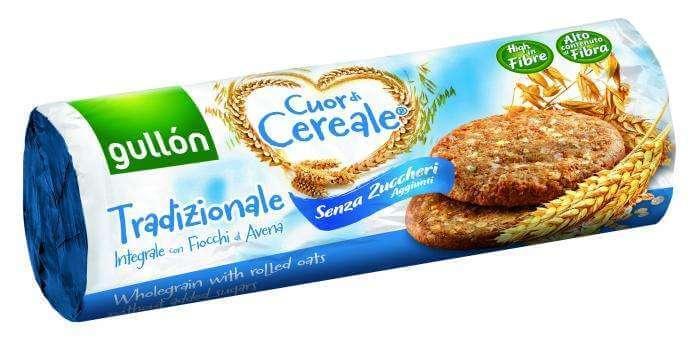 Печенье без сахара Gullon Tradizionale  богатое  клетчаткой  диабетическое  280г из Венгрии