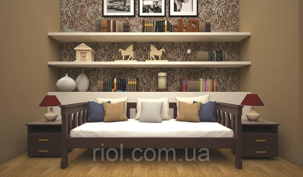 Кровать из натурального дерева Рондо 3 ТМ Тис