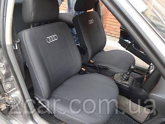 Чехлы на сидения Audi 80 (B-3) (з вбуд. підгол.) (седан) (1986-1991) в салон (Favorit)