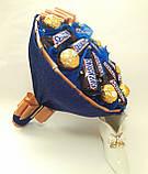 Букет из конфет Okl синий РР 1572, фото 2