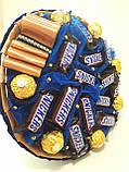 Букет из конфет Okl синий РР 1572, фото 3