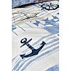 Постельное белье Karaca Home - Sandes indigo 2019-2 ранфорс подростковое, фото 3