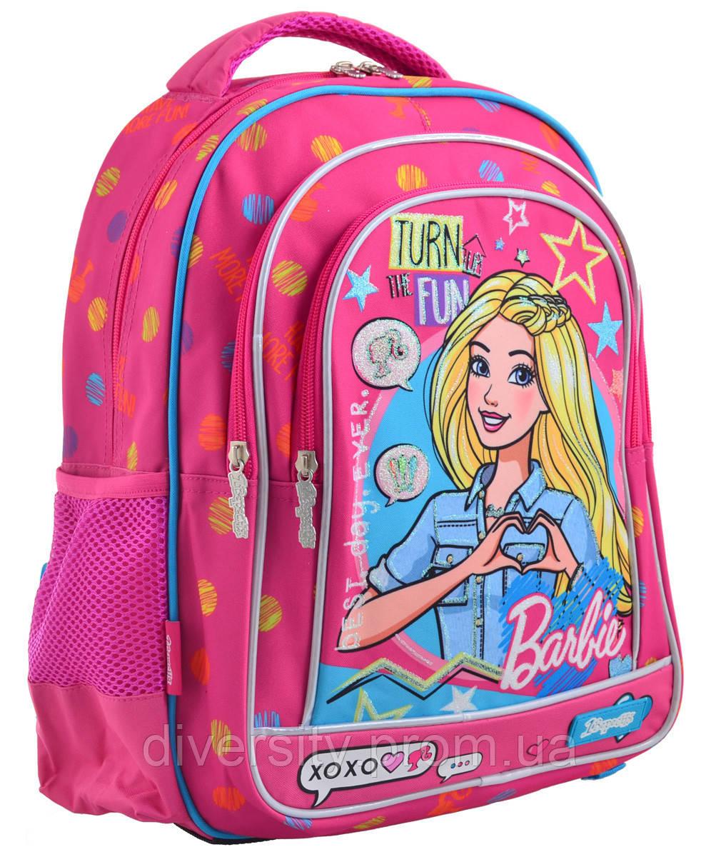 """Рюкзак школьный S-22 """"Barbie"""",серия""""School Light"""" 556335"""