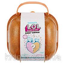Валіза ЛОЛ шипучий сюрприз з серцем золотистий L. O. L lol Surprise 556268
