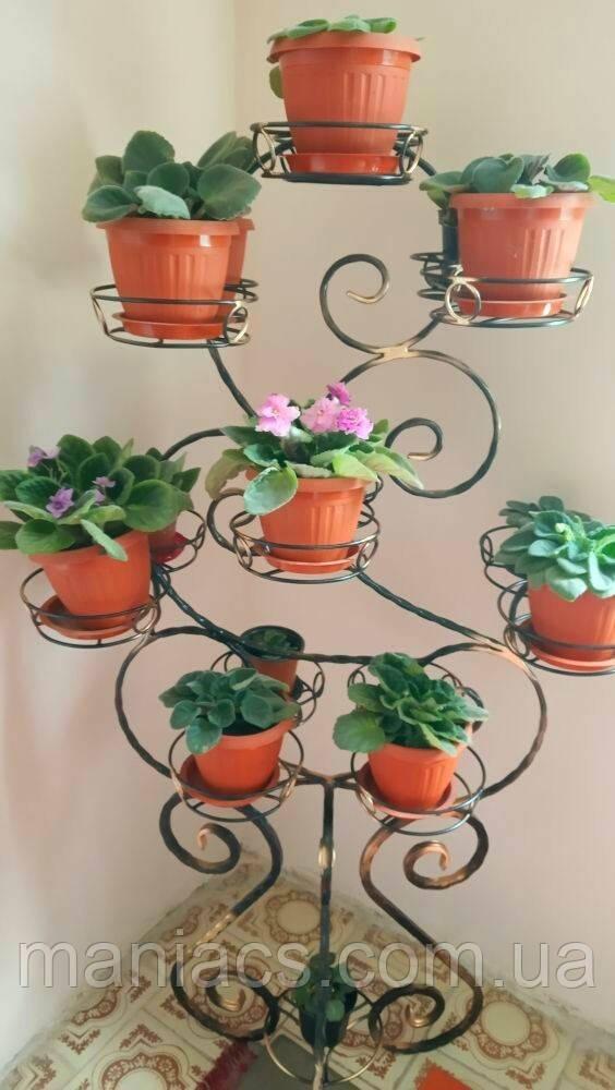 Бегония-2, подставка для цветов на 16 чаш