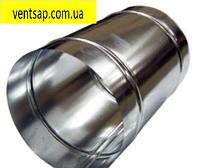 Труба 1м, нержавейка 0,5 мм,диаметр 100 мм. дымоход,димохід