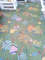 Детский ковролин Карандаши зеленые, фото 3