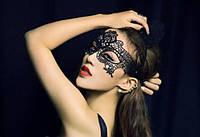 Эротическая кружевная маска