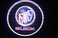 Подсветка дверей авто / лазерная проeкция логотипа Buick | Бьюик