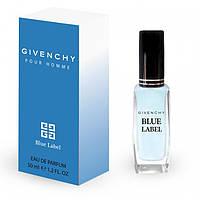 Мужской мини-парфюм Givenchy pour Homme Blue Label 50мл
