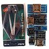 Набор адаптеров для программаторов RT809F, TL866A, TL866CS 8шт + экстрактор для микросхем