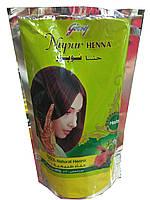 Индийская натуральная хна для волос  Godrej Nupur Henna  с Амлой, Брахми и Бринграджем  200 грамм 220 грн