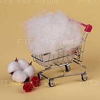 Синтепух Fior Textile, украинский 15 dtex, бело-серый (скидки от 5кг и 10кг)