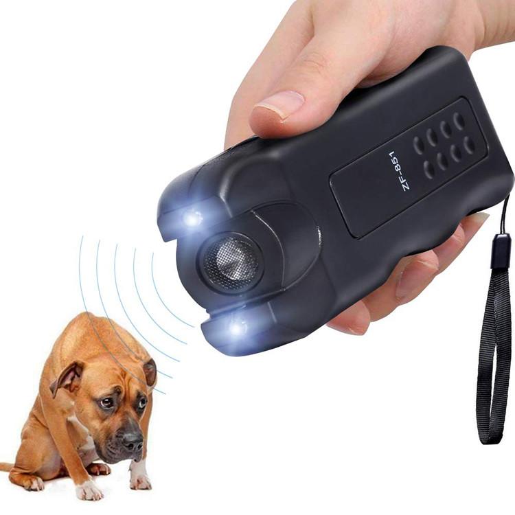 Ручной многофункциональный отпугиватель собак ZF-851 Ультразвуковой отпугиватель