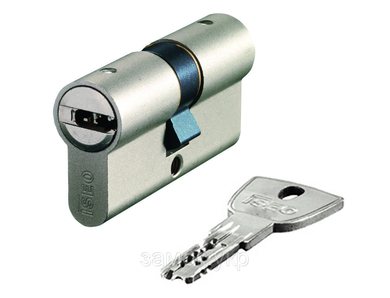 Iseo R90 Gera 120мм 60х60 ключ/ключ никель (Италия)