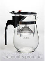Заварочник с кнопкой кофе/чай пуэр