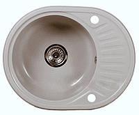 Кухонна мийка BRENOR ALABAMA 59 szary metalik (27)